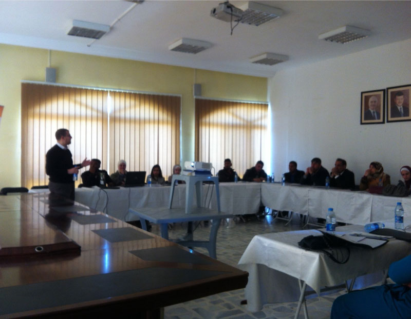 Community based training in climate change