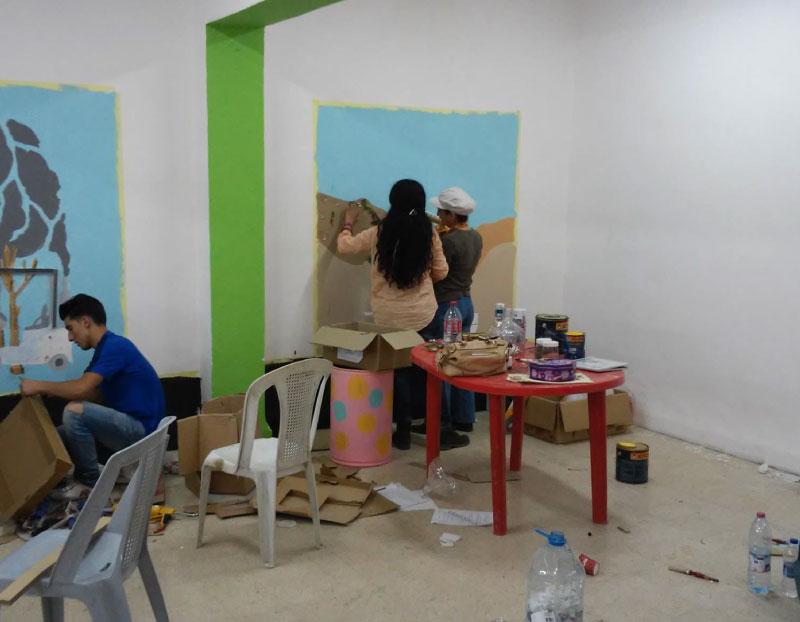 Enviromental Museum in Dhahiet Alhussein School